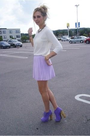 GINA TRICOT skirt - Zara sweater