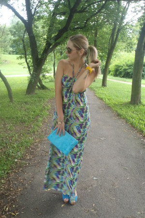 Zara dress - GINA TRICOT bag