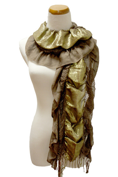 dark brown Kmart scarf