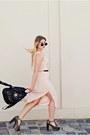 Neutral-maxi-dress-h-m-dress-black-foxy-sandals-jeffrey-campbell-sandals