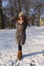 faux fur Orsay coat