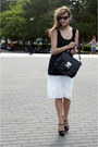 Black-el-monte-heels-ivory-sinequinone-skirt
