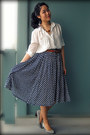 White-romwecom-blouse-blue-from-indonesia-skirt-tawny-topshop-necklace-bur