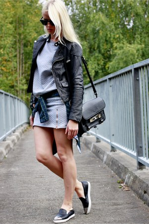 leather asos jacket