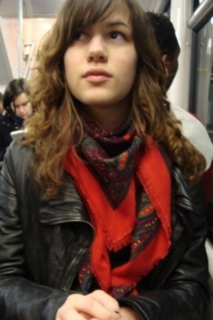 scarf - Zara jacket