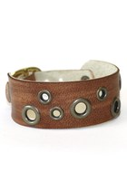 brown soft leather Birdhouse Designs bracelet
