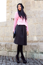 H&M sweater - H&M skirt