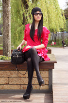 Zara hat - il passo shoes - Prive Boutique dress - Zara bag