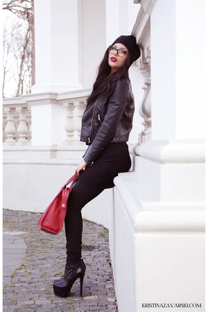 Basconi shoes - Zara hat - H&M jacket