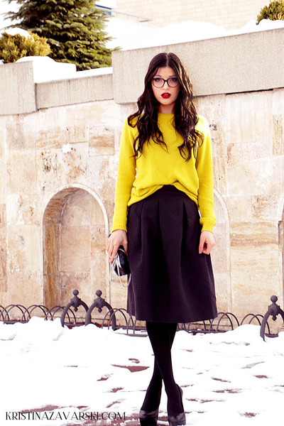 il passo shoes - Zara bag - H&M blouse - Guess glasses