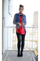 boots - leggings - shirt - scarf