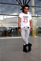 cool DIY shirt - combat boots 511 boots - carrot fit Penshoppe jeans