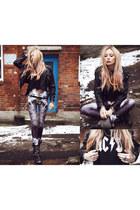 DIY jacket - Lovelysally leggings - Market HQ top