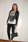 Black-bershka-jacket-white-zara-shirt-black-h-m-leggings-black-chanel-bag-
