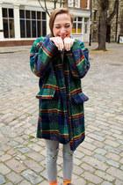 forest green Krossy coat - heather gray Krossy leggings