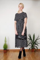 black Krossy dress - black Krossy bag