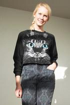 black Krossy jeans - black Krossy top