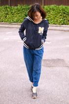 navy Krossy jacket