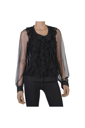 black Forever21 blouse