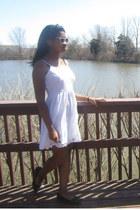 white dress No Boundaries dress