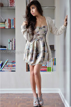 beige Dorothy Perkins cardigan - gray wholesale-dressnet shoes