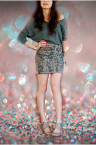 What A Girl Wants sweater - cotton on skirt - Joy and Peace shoes