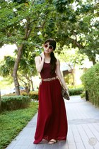 crimson Covetz skirt