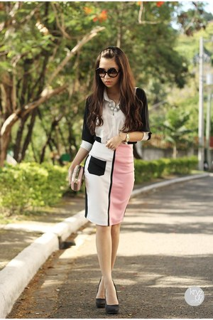 light pink Kiss and Tell skirt - light pink my everyday fashion bag