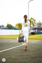 white WAGW dress