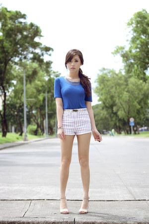blue H&M top