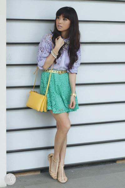 aquamarine In Love with Fashion skirt