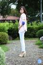 Light-pink-wagw-blazer-white-yesstyle-jeans-navy-wagw-top