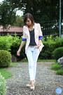 White-yesstyle-jeans-light-pink-wagw-blazer-navy-wagw-top