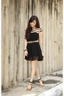 Black-choies-dress