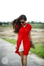 Red-clothes-for-the-goddess-dress-gold-house-of-luxe-necklace