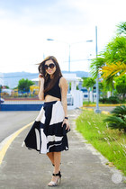 black Eunice Sason skirt - black Klarra top