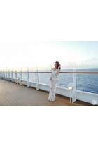 white nakd dress