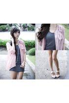 pink httpwagwmultiplycom cardigan - gray httpwagwmultiplycom dress - beige httpm