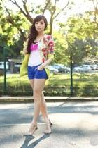 yellow Korean Rose blazer
