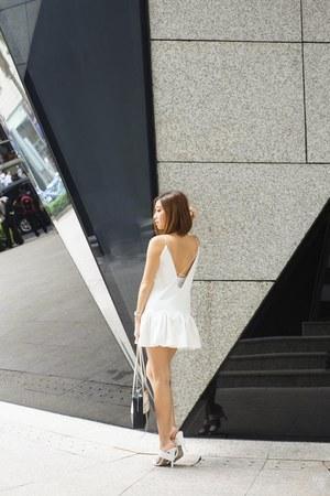 white Styligion dress
