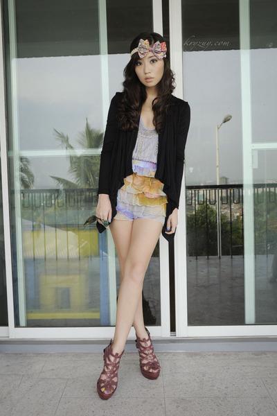 So FAB heels - binky pitogo skirt - binky pitogo accessories