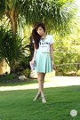 White-sheinside-top-heather-gray-choies-heels-aquamarine-windsor-skirt
