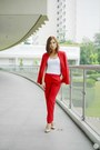 Red-zara-pants