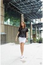 white WAGW skirt