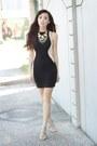 Black-style-staple-dress-off-white-romwe-heels