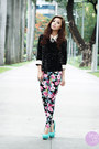 Black-clothes-for-the-goddess-top-hot-pink-sheinside-pants