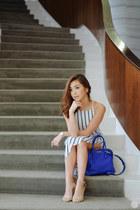blue Miu Miu bag
