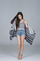 maroon Sheinside cape