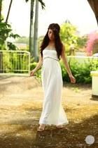 white Sheinside dress