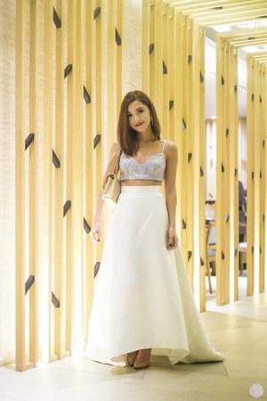off white Rosenthal Tee dress